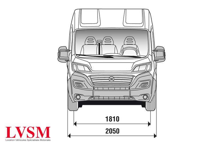 Véhicule location camion utilitaire 11,5 m3 3t5